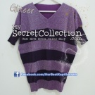 Sweater Glitter Stripe