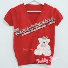 Princess Bear Knitted Blouse