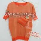 Sweater Glitter Pocket